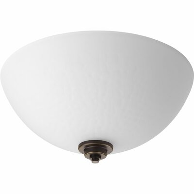Pelovitz 2-Light Flush Mount Finish: Antique Bronze