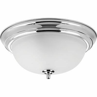 Dome 2-Light Flush Mount