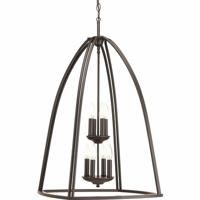 Adama 8-Light Foyer Pendant Finish: Antique Bronze