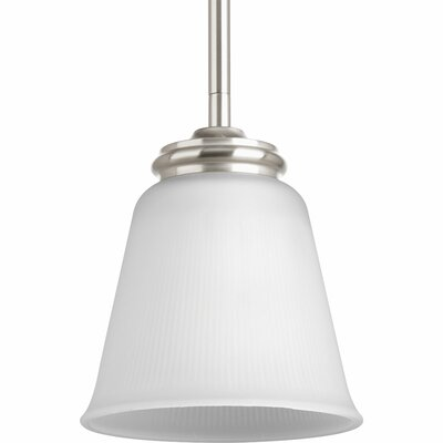 Pedroy 1-Light Mini-Pendant Finish: Brushed Nickel