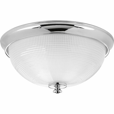 Feissal 3-Light Flush Mount Finish: Polished Chrome