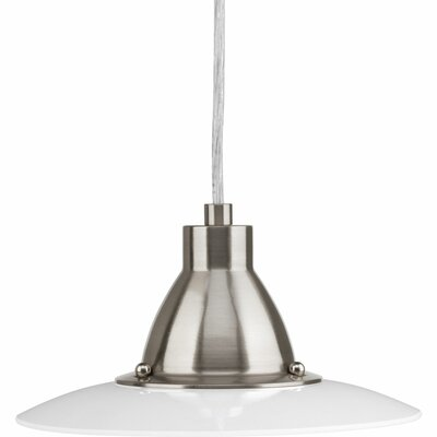 Bogard Mini-Pendant Finish: Brushed Nickel