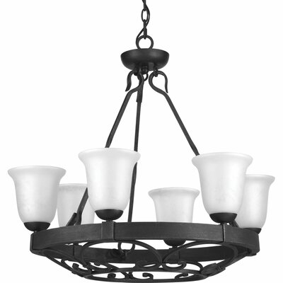 Beachwood 6-Light Shaded Chandelier