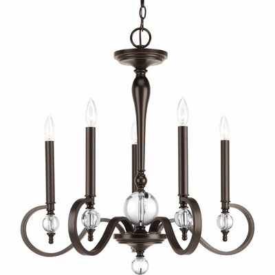 Esteem 5-Light Candle-Style Chandelier