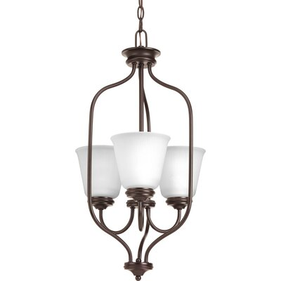 Pedroy 3-Light Foyer Pendant Finish: Antique Bronze