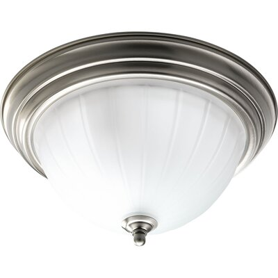 Micadeau 2-Light Metal Flush Mount