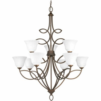 Kanwit 9-Light Shaded Chandelier