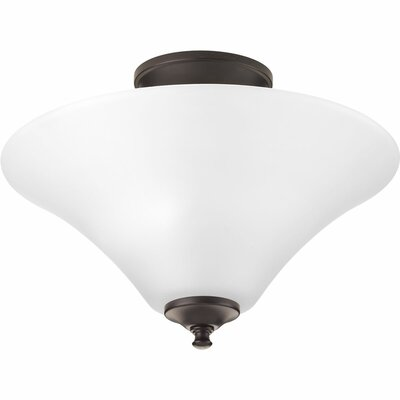 Jilliann 2-Light Semi-Flush Mount