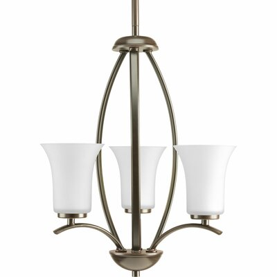 Jilliann 3-Light Foyer Pendant