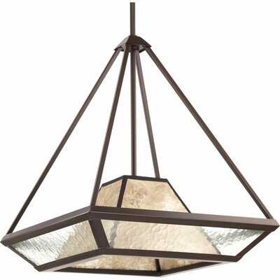 Collins 1-Light Foyer Pendant Size: 20 H x 17 W