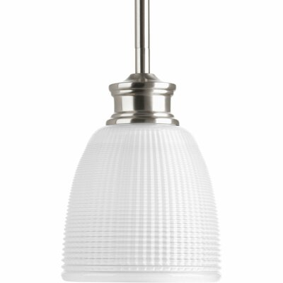 Atkison 1-Light Mini Pendant Finish: Brushed Nickel