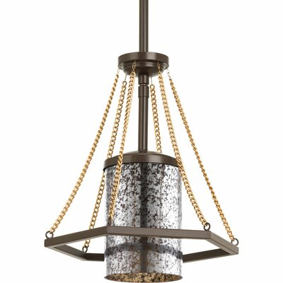 Garvin 1-Light Mini Pendant Finish: Antique Bronze