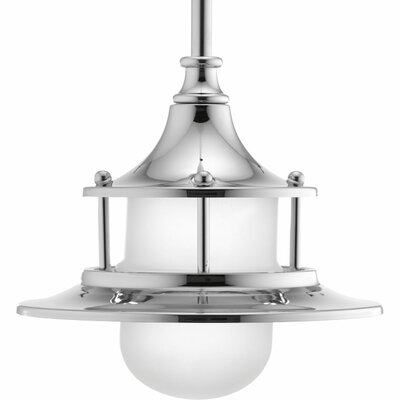 Parlay 1-Light Mini Pendant Base Finish: Polished Chrome