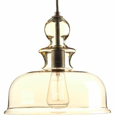 Staunton 1-Light Bowl Pendant Finish: Antique Bronze