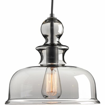 Staunton 1-Light Bowl Pendant Finish: Graphite