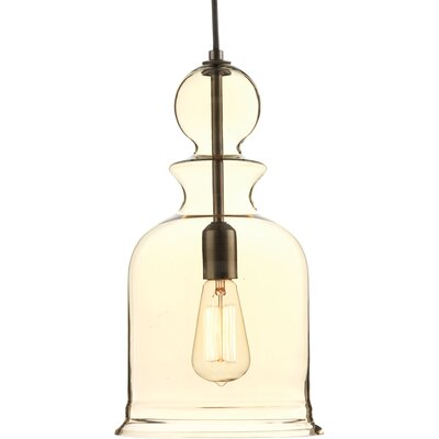 Staunton 1-Light Foyer Pendant Finish: Antique Bronze