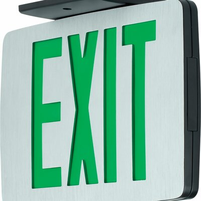 Exit Sign Finish: Green