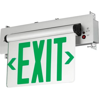Exit/Emergency Light Finish: Green