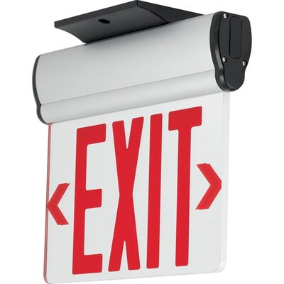 Exit/Emergency Light Finish: Red
