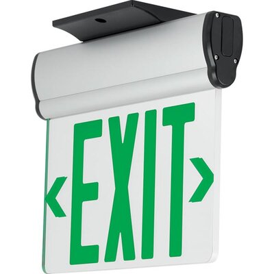 Exit/Emergency Light Finish: Green