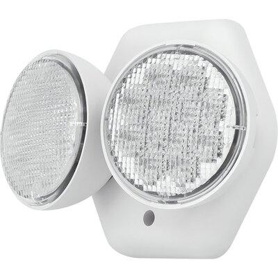 20 LED Double Head 2-Light Emergency Light