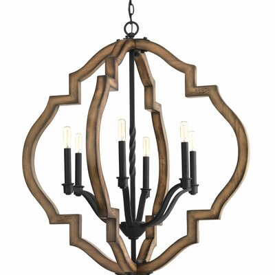 Jefferies 6-Light Foyer Pendant