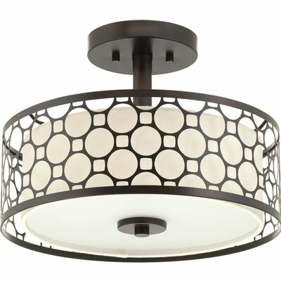 Mingle 1-Light Semi-Flush Mount