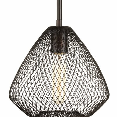Mahalia 1-Light Metal Mini Pendant