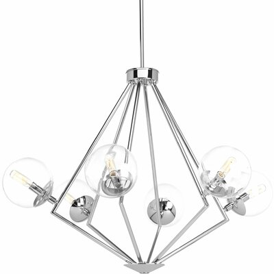 Byrd 6-Light Candle-Style Chandelier