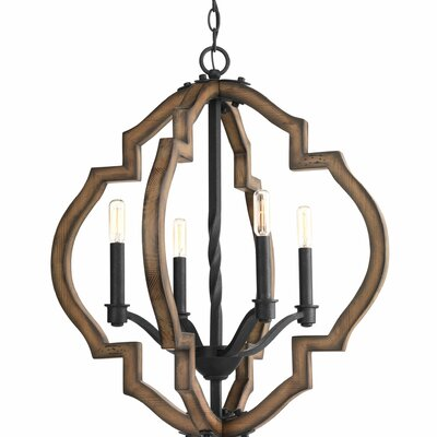 Jefferies 4-Light Foyer Pendant