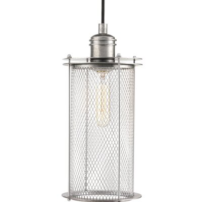 Benita 1-Light Pendant Finish: Galvanized