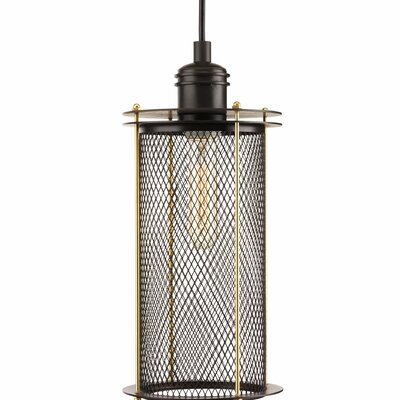 Benita 1-Light Pendant Finish: Antique Bronze