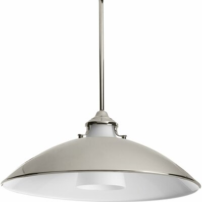 Haner 1-Light Inverted Pendant Finish: Polished Nickel