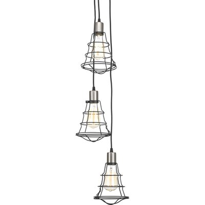 Gauge 3-Light Mini Chandelier