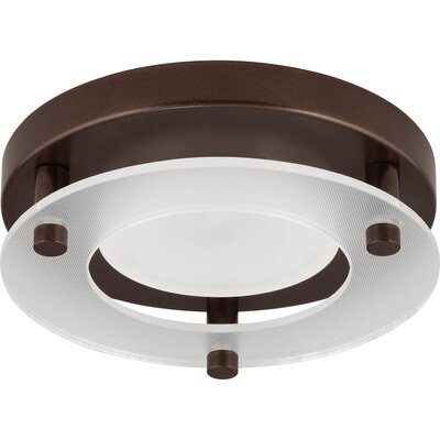 Bolger 1-Light Flush Mount Finish: Antique Bronze