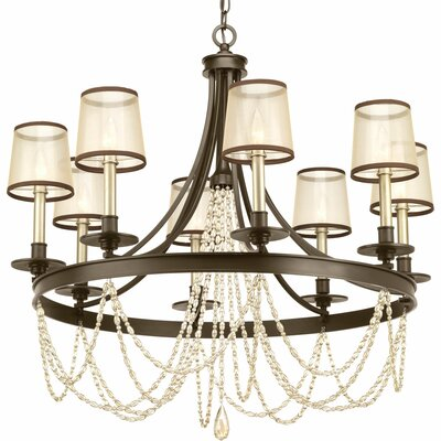 Genevieve 8-Light Candle-Style Chandelier