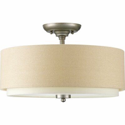 Frieda 3-Light Semi Flush Mount