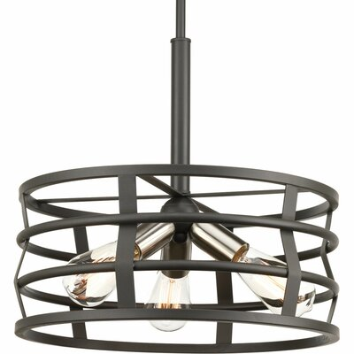 Pattie 3-Light Drum Pendant
