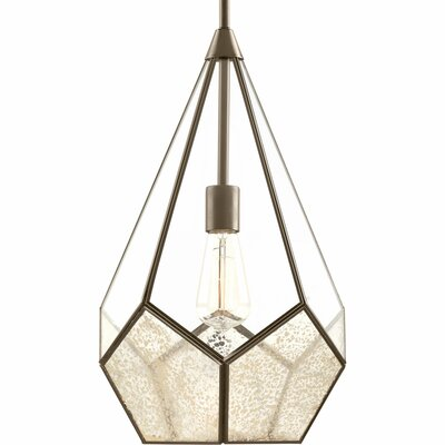 Cinq 1-Light Geometric Pendant