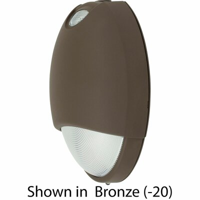 Exit/Emergency Light Finish: Dark Bronze