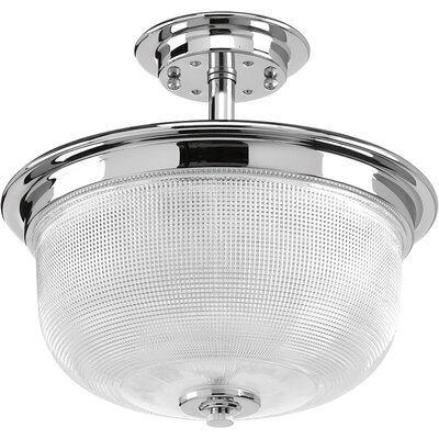 Cambarville 2-Light Semi Flush Mount Finish: Polished Chrome