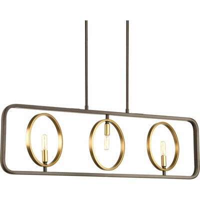 Haydee 3-Light Kitchen Island Pendant