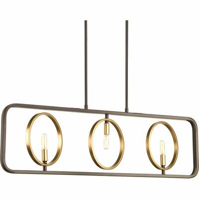 Swing 3-Light Kitchen Island Pendant