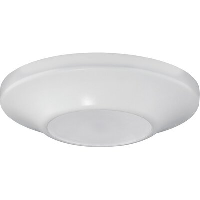 Bolen 1-Light Flush Mount Finish: White