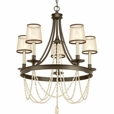 Genevieve 5-Light Candle-Style Chandelier