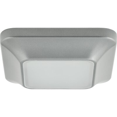 Ayotte 1-Light Flush Mount Finish: Metallic Gray