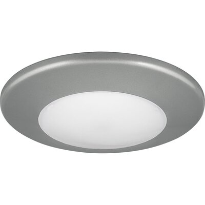 1-Light LED Flush Mount Finish: Metallic Gray