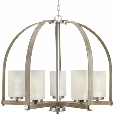 Andrade 5-Light Shaded Chandelier