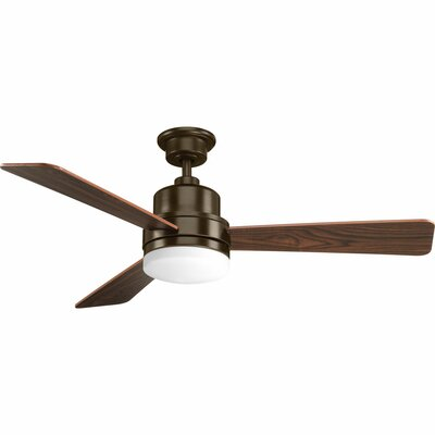 52 Rathburn 3-Blade Ceiling Fan Finish: Antique Bronze