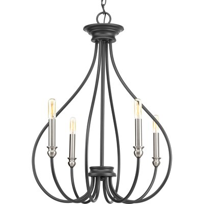 Chaney 4-Light Candle-Style Chandelier